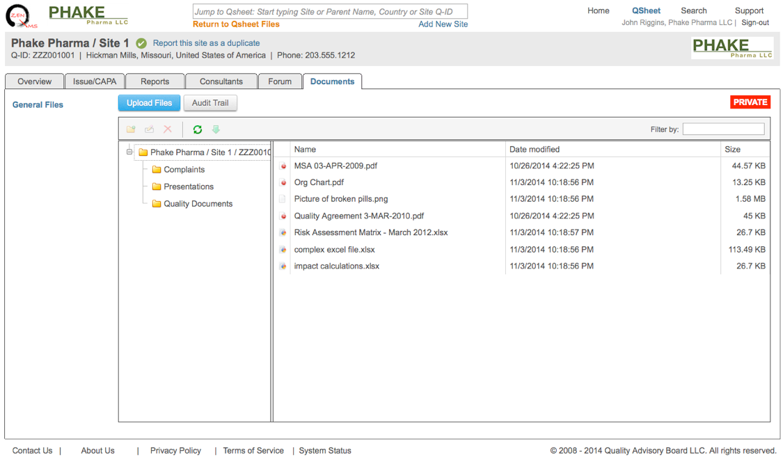 2014.2 Release Notes \u2013 ZenQMS
